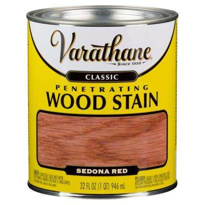 1 qt. Sedona Red Classic Wood Interior Stain (2-Pack)