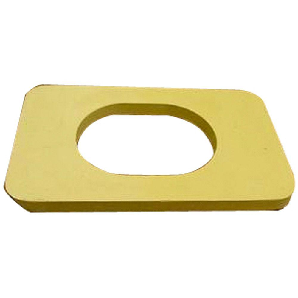 Glacier Bay Tank-to-Bowl Gasket for Glacier Bay Flapperless Toilets ...
