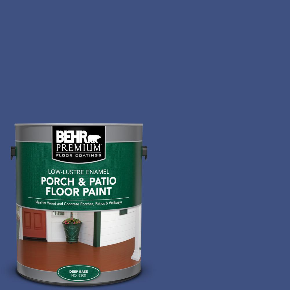 Reviews For Behr Premium 1 Gal Ppu15 02 Mozart Low Lustre Enamel Interior Exterior Porch And Patio Floor Paint 630001 The Home Depot