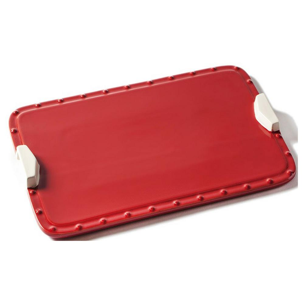 Ceramic Rectangular Baking Tray with Handles