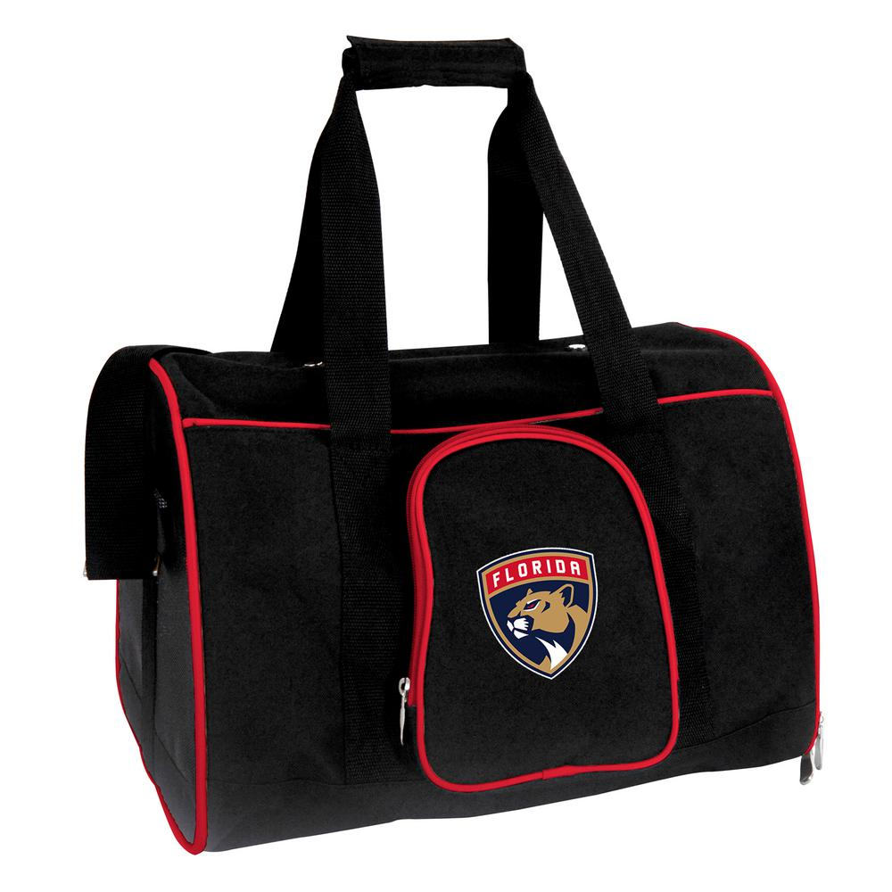 NHL Florida Panthers Pet Carrier Premium 16 in. Bag in Red