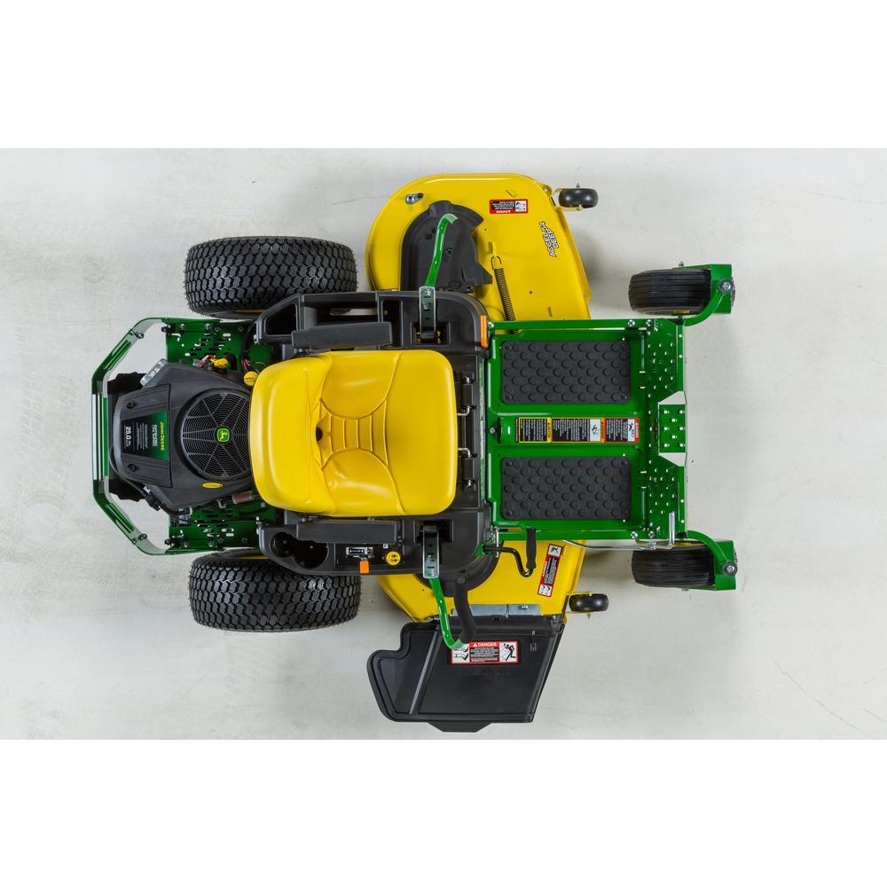 John Deere Z375R Riding Lawn Mower For Steep Slopes