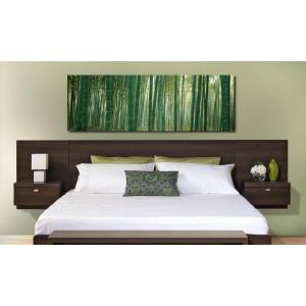 Prepac Series 9 1-Piece Espresso King Bedroom Set by Prepac