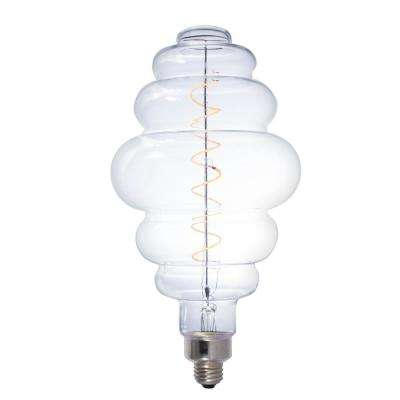 40-Watt Equivalent Beehive Shaped BH Dimmable LED Grand Filament Nostalgic Light Bulb in Amber