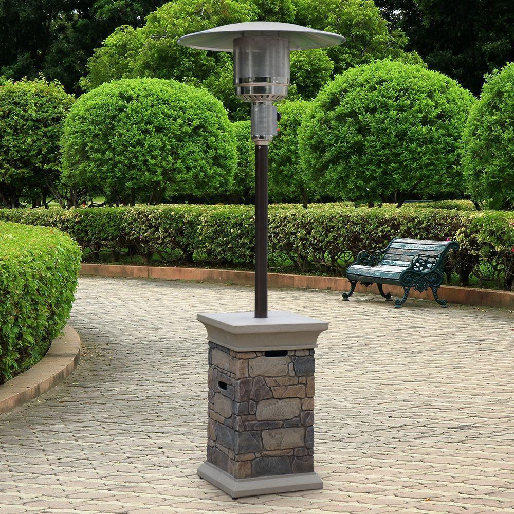 Corinthian 42,000 BTU Envirostone Propane Gas Patio Heater