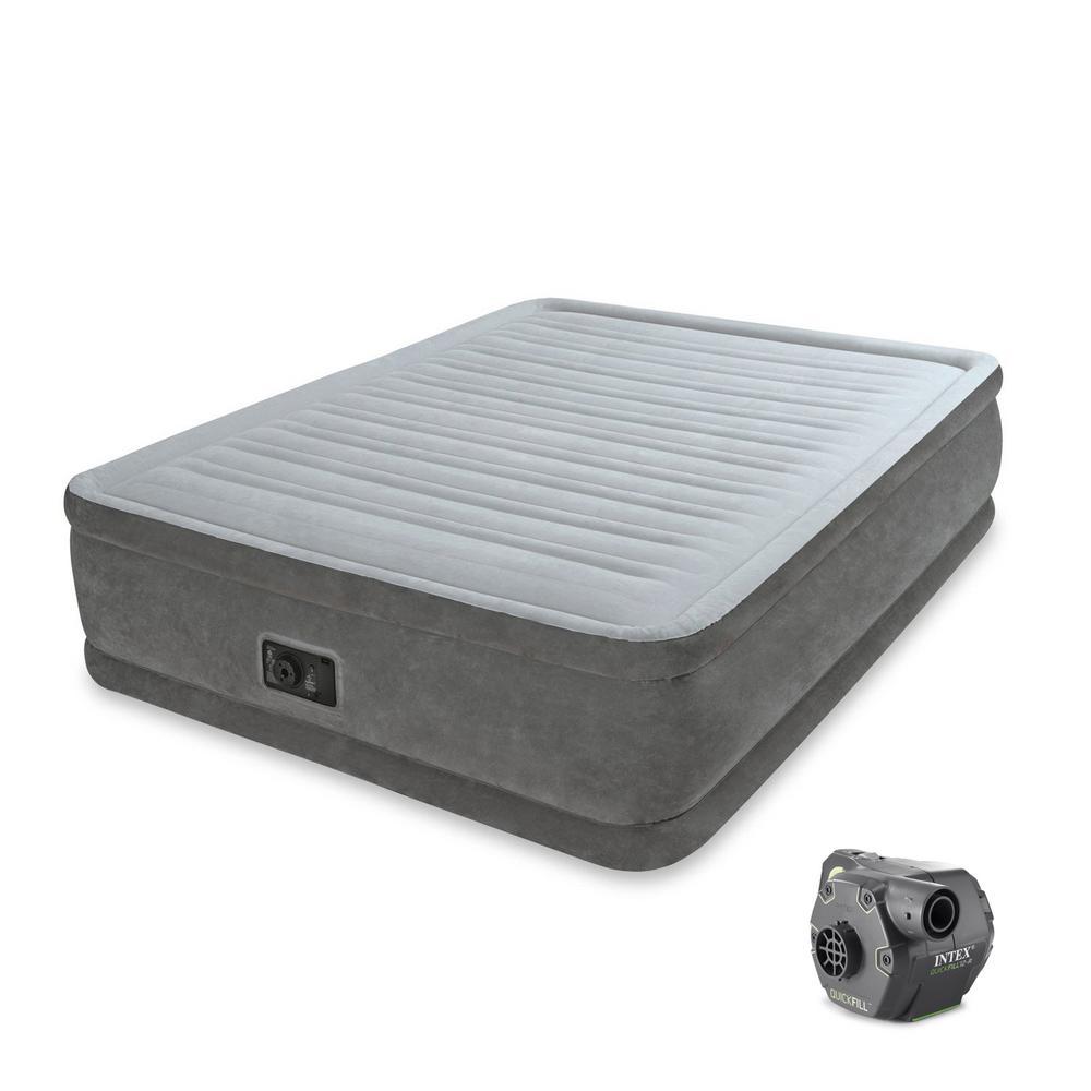 Intex Comfort Queen Air Mattress Plush