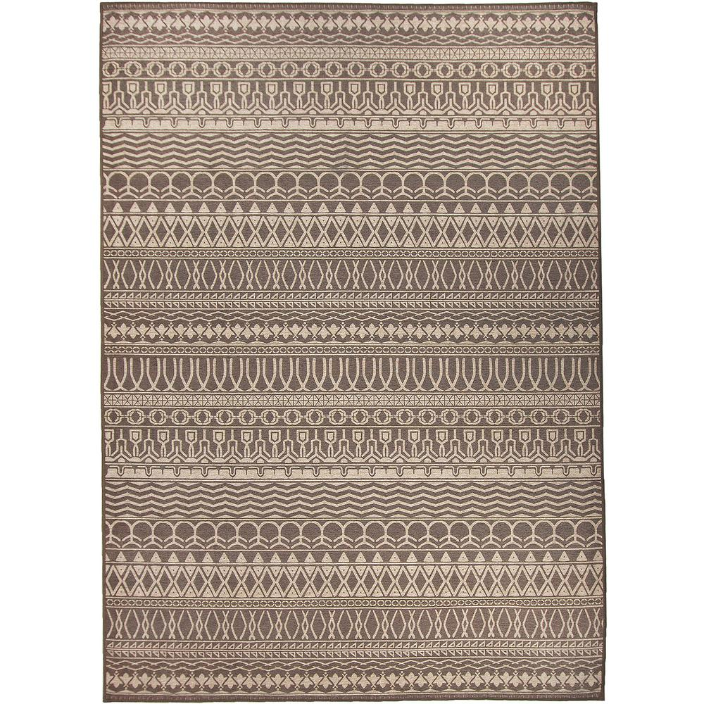 Ruggable Washable Cadiz Espresso 5 Ft X 7 Stain Resistant Area Rug