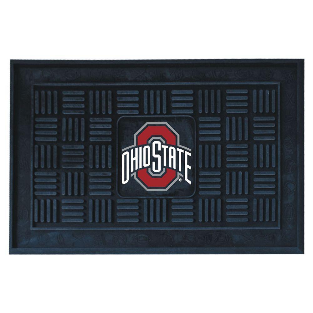 FANMATS Ohio State University 18 inch x 30 inch Door Mat by FANMATS