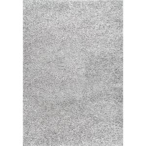 nuLOOM Shag Silver 8 ft. x 10 ft. Area Rug by nuLOOM