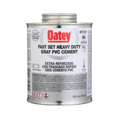 16 oz. Gray Heavy-Duty Fast Set PVC Pipe Cement