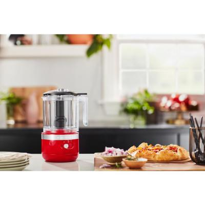 KitchenAid-Cordless 5-Cup Passion Red Food Chopper