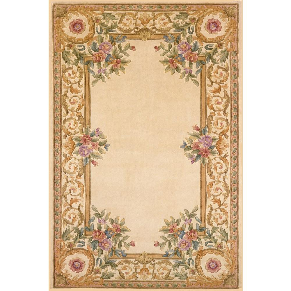 Momeni Chateau Ivory 3 ft. 6 in. x 5 ft. 6 in. Indoor Area Rug