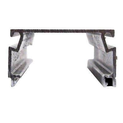 1 in. x 2 in. x 8 ft. Bronze Fast Track Self-Mating Porch Screening Channel