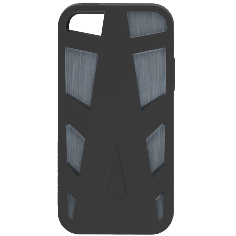 Impact Gel Xtreme Armour Phone Case for iPhone5 - Black/Grey