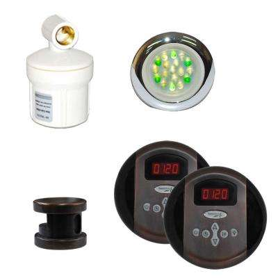 Royal Programmable Steam Bath Generator Control Kit in Oil Rubbed Bronze