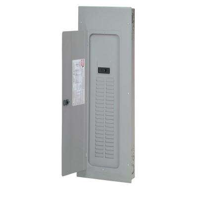 BR 225 Amp 42-Space 42-Circuit Indoor Main Breaker Loadcenter with Cover