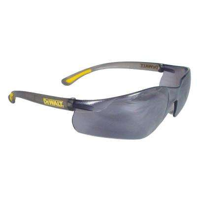 Safety Glasses Contractor Pro with Silver Mirror Lens