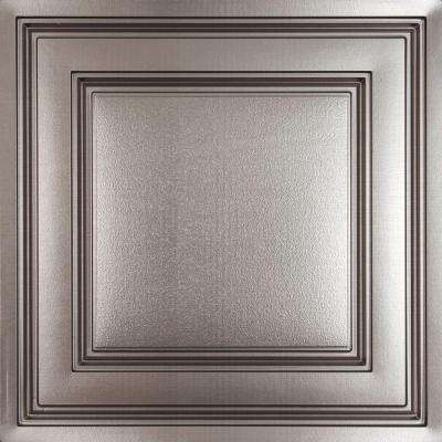Oxford Faux Tin 2 ft. x 2 ft. Lay-in Ceiling Panel (Case of 6)