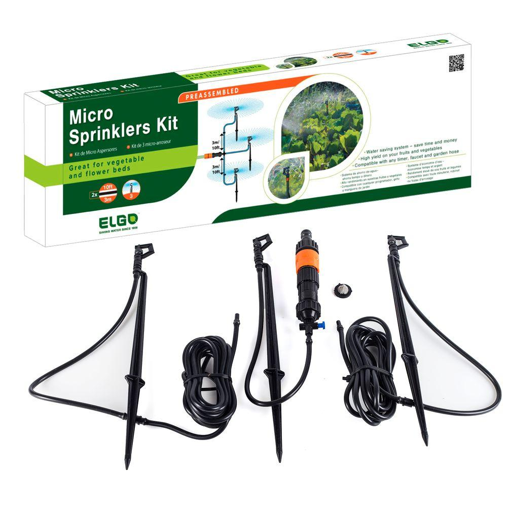 Genesis 20 ft. Watering System with Micro Sprayers