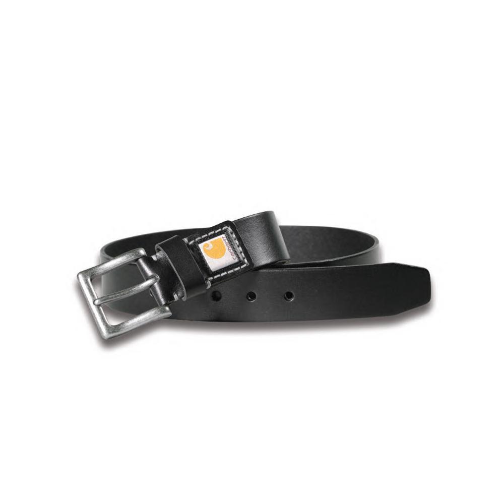 Men's Size 42 Black Leather Legacy Belt