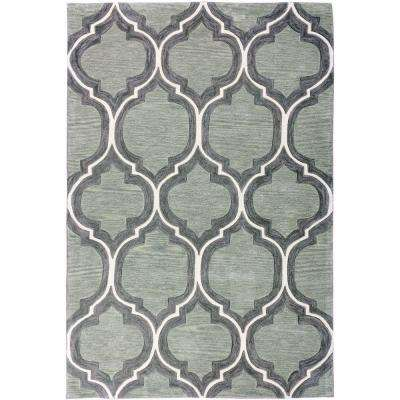 Green Persian Dark Area Rugs Rugs The Home Depot