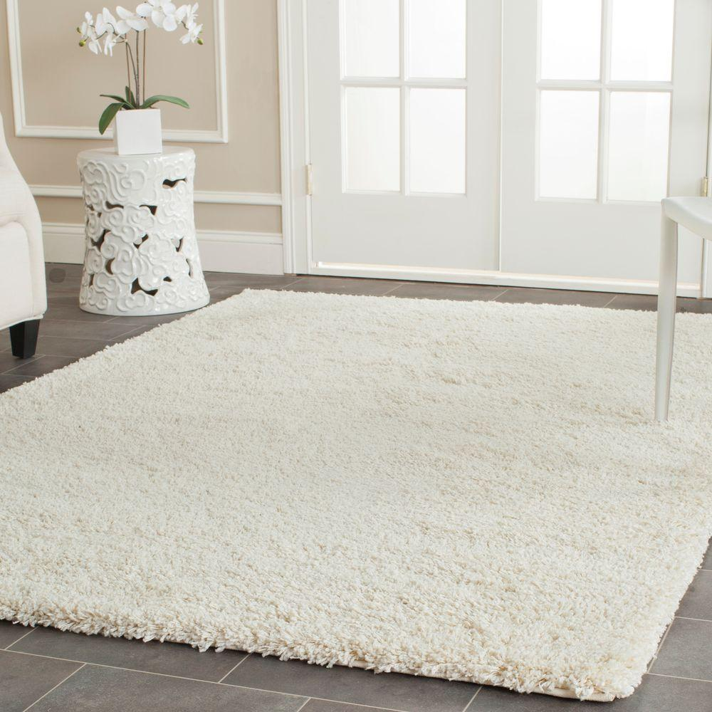 Safavieh California Shag Ivory 4 ft. x 6 ft. Area Rug