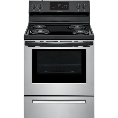 30 in. 5.3 cu. ft. Electric Range with Self Clean in Stainless Steel