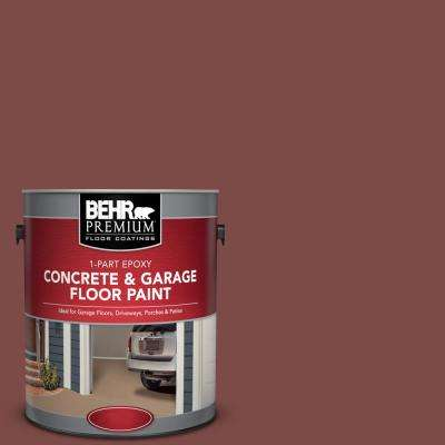 1 gal. #SC-118 Terra Cotta 1-Part Epoxy Concrete and Garage Floor Paint