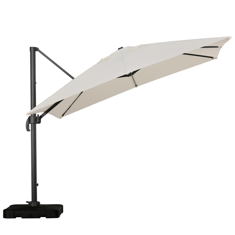 Royal 10 ft. Cantilever Patio Umbrella in Beige