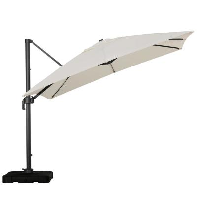 Royal 10 ft. Cantilever Patio Umbrella in Beige