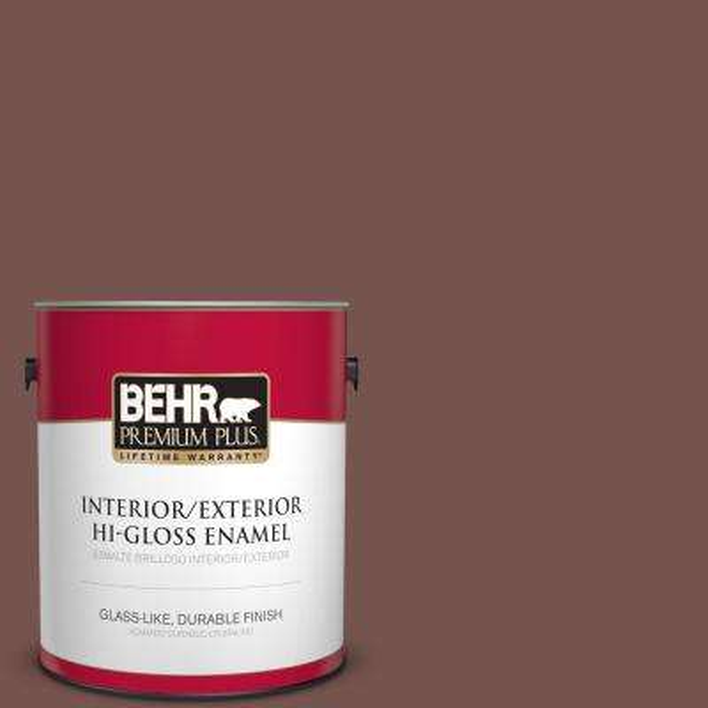 1 gal. #PPU2-20 Oxblood Hi-Gloss Enamel Interior/Exterior Paint