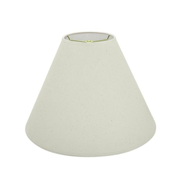 Aspen Creative Corporation 16 In X 12 In Ivory Hardback Empire Lamp Shade 32016 The Home Depot