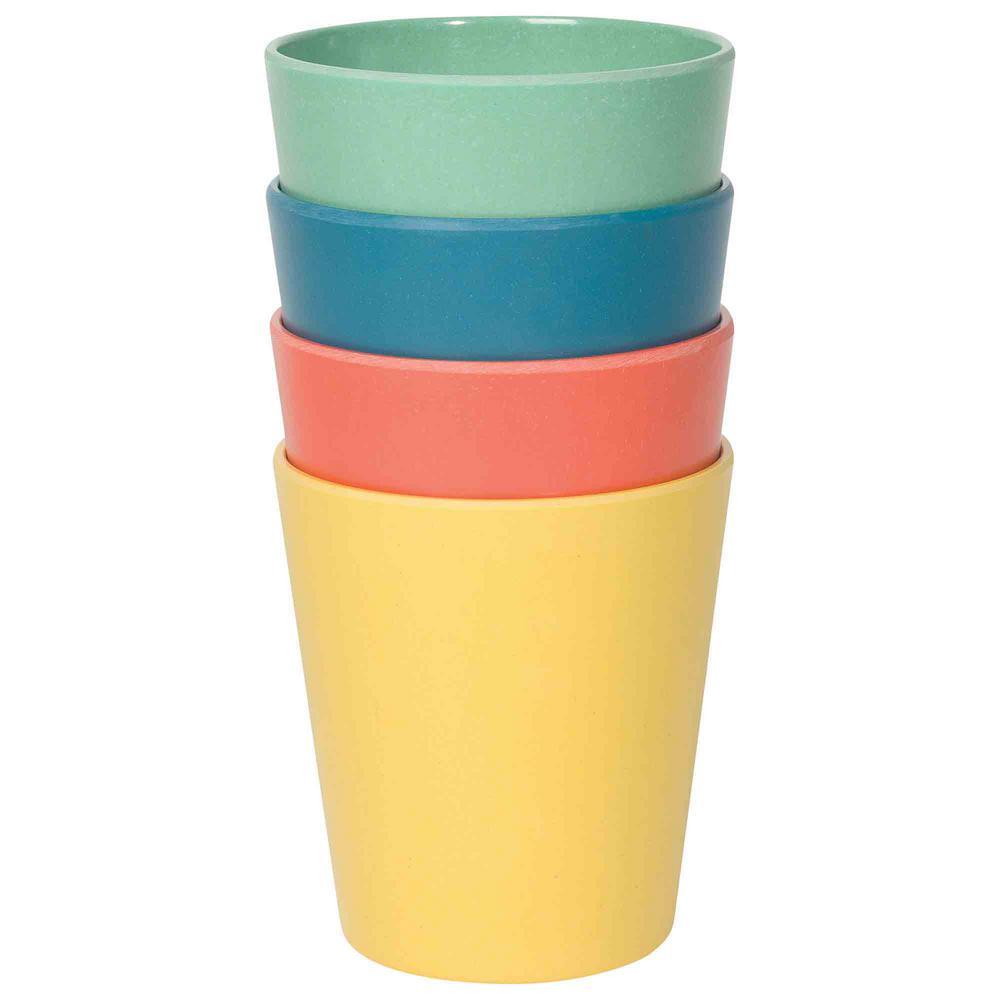 Ecologie Fiesta 4-Piece Multi-Color Cups