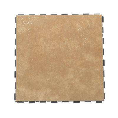 Latte 12 in. x 12 in. Porcelain Floor Tile (5 sq. ft. / case)
