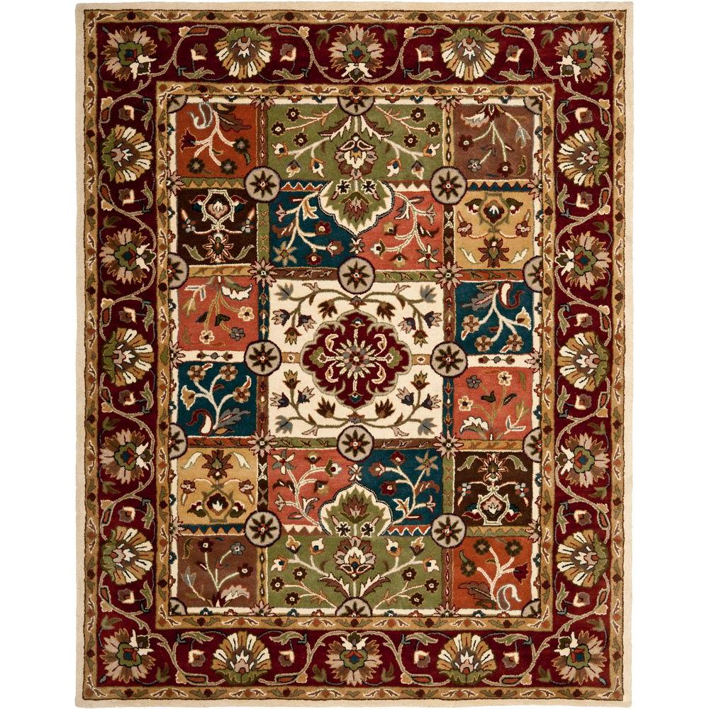 Safavieh Heritage Multi/Red 8 ft. 3 in. x 11 ft. Area Rug