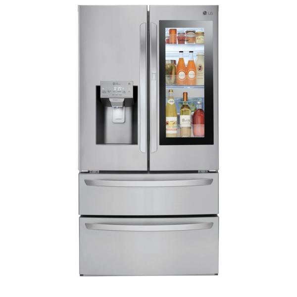 LG Electronics 27.80 cu. ft. French Door Refrigerator in Stainless Steel