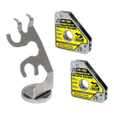 Weld Torch Holder Magnetic Based for TIG Torches with Square Kit