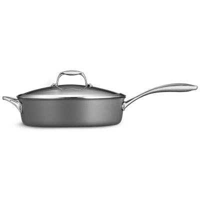 Gourmet 5.5 Qt. Hard Anodized Saute Pan with Lid