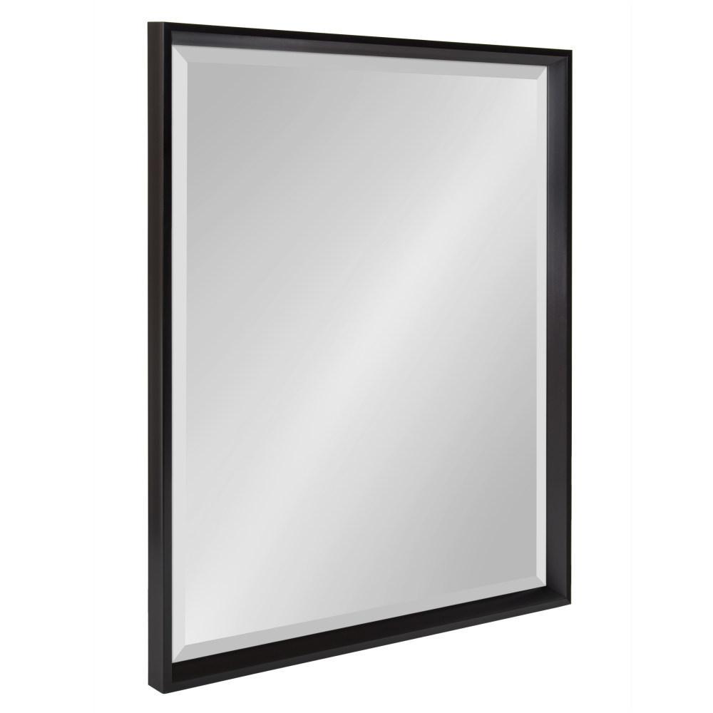 Calter Rectangle Black Wall Mirror