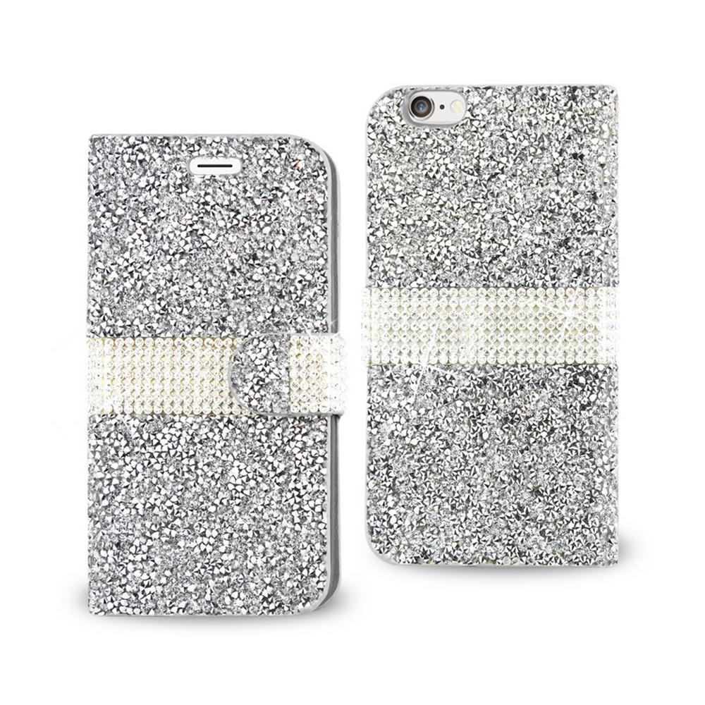 REIKO iPhone 6/6S Rhinestone Case in Silver