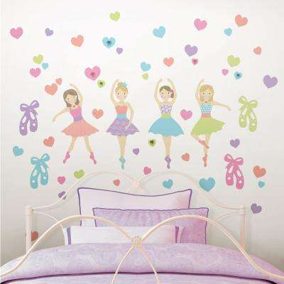 Multi Color - Wall Decals - Wall Decor - The Home Depot