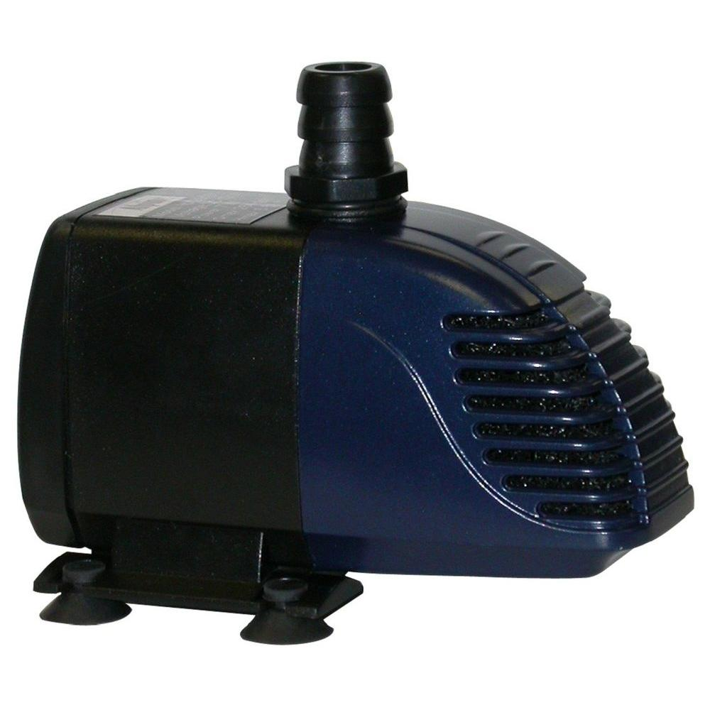 Alpine Hybrid Powered 280 GPH Garden Pump