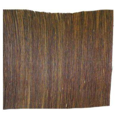 8 ft. L x 4 ft. H Willow Twig Privacy Screen Fence