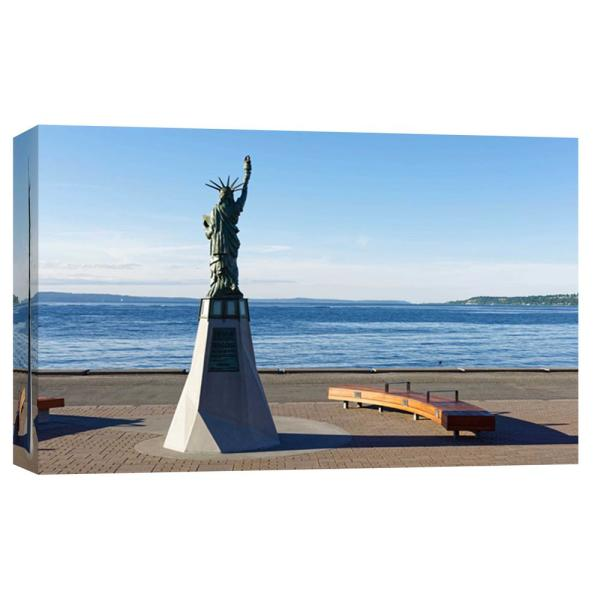 PTM Images 10 in. x 12 in. ''Liberty '' Printed Canvas