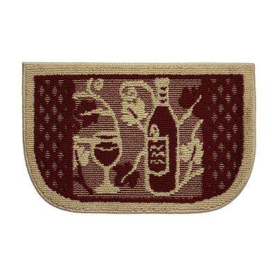Wine Tasting 18 in. x 30 in. Kitchen Rug