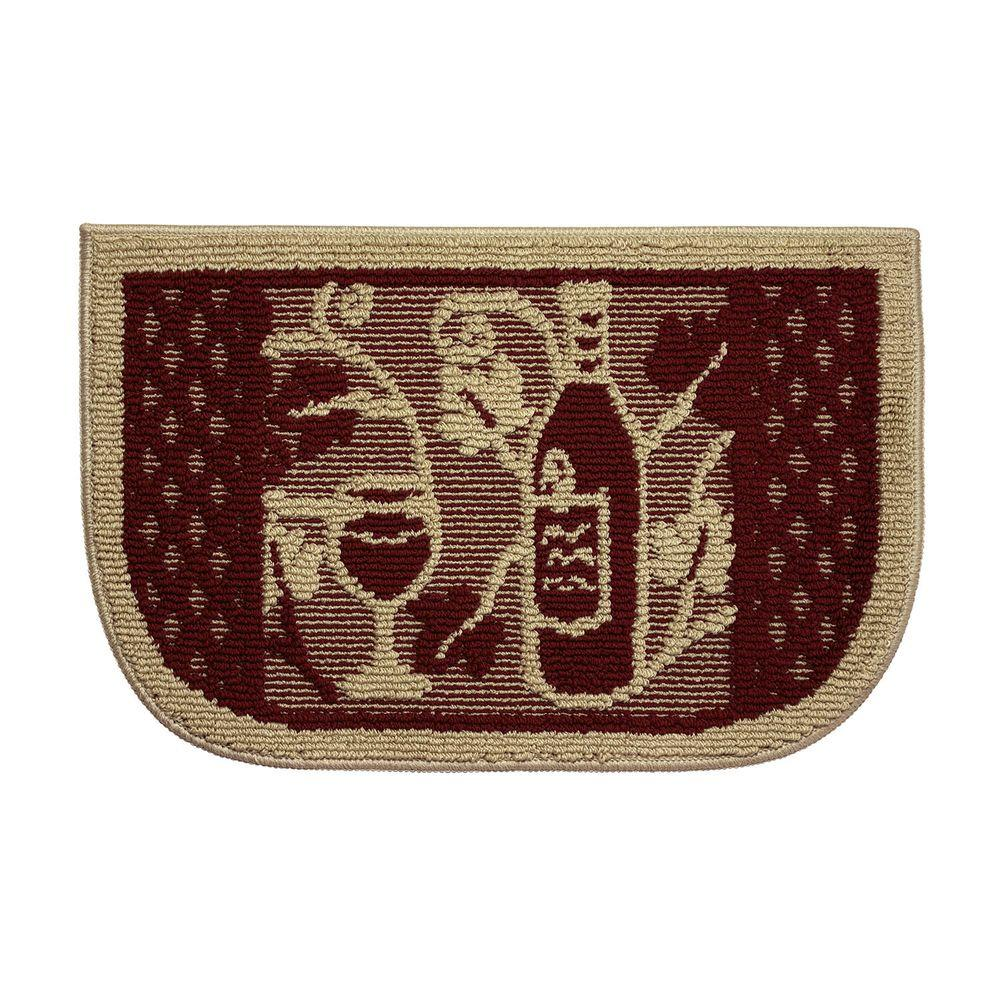 Structures Wine Tasting 18 In. X 30 In. Kitchen Rug