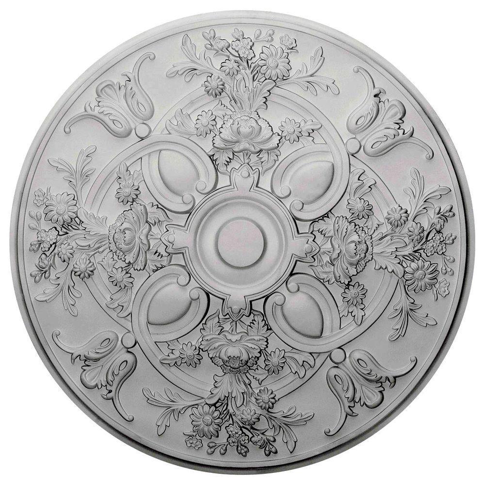 Ekena Millwork 31-1/4 in. Baile Ceiling Medallion