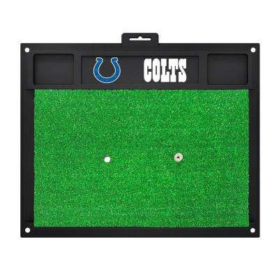 NFL Indianapolis Colts 17 in. x 20 in. Golf Hitting Mat