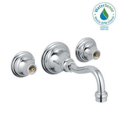 GROHE - Wall Mounted Bathroom Sink Faucets - Bathroom Sink Faucets ...