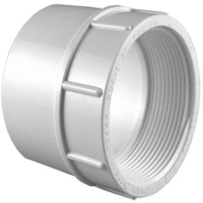 1 in. x 3/4 in. PVC Sch. 40 S x FPT Reducer Female Adapter